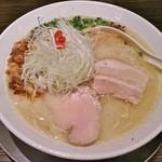 麺匠ぼんてん - 金曜夜限定の鶏白湯らーめん(塩)820円