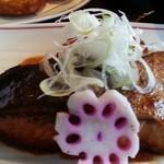 球磨川 - 鰤の煮付け2014.4