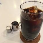 アザミ - アイスコーヒー