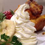 Cafeボローニャ - フルーツフレンチトースト