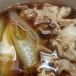 つけ汁うどん 野澤 - 豚汁 2014.4