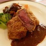 ビフカツ(国産牛フィレ肉150g)ランチ
