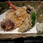 かしま - 天ぷら盛り合わせ