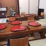 創作割烹 おおた - 新店舗 個室 掘りごたつ式座卓