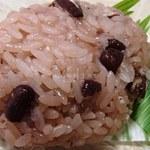 高砂屋製菓 - 赤飯まんじゅう(150円/個)