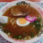 中華料理 満来軒 - ラーメン 650円