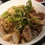 麺屋宗 - チャーシュー丼