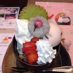 BAKERY CAFE CLUB RATIE - 桜パフェ