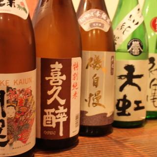 ◆厳選◆全国の地酒常時20種あり。入手困難な銘柄も◎