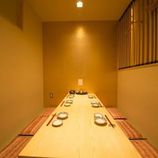 宴会はもちろん、接待・会食にもピッタリの個室。