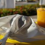 きたうち牧場 - 極みバーガー(R)の包み紙