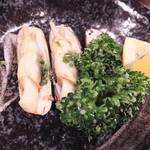 海鮮食堂 すいか - (2014/4/19)あげまき貝の煮つけ