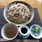 京蕪庵 - 京蕪庵 十割 ざる