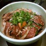 2666082 - 焼肉丼定食(焼肉丼)