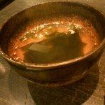 2666083 - 焼肉丼定食(スープ)
