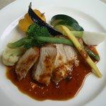 2666562 - 赤井川産豚ロースのソテー ローズマリー風味