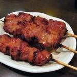 加賀廣 - 名物スタミナ焼(3本)¥380@スタミナも旨い!