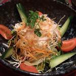 うまいもん酒場  むら茶家 - 野菜サラダ