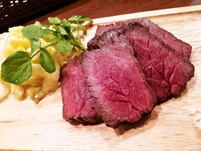 ワインと熟成肉のイタリアン ボノ - 35日熟成 黒毛和牛 ランプ炭火焼き ~Rump Steak~