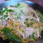 和パスタさくら - 料理写真:茄子と豚肉の味噌仕立て