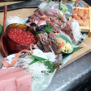 産地直送鮮魚のお造り