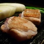 鳥吉 - ☆地鶏もも肉ぷりっぷりです☆