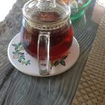 ガーデンカフェドットコム - 紅茶、ポットできました