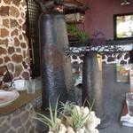 ガーデンカフェドットコム - テーブルのオブジェ