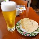 DURGA - ランチ生ビールとパパド