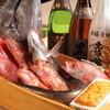 魚八庭 - 料理写真:旬の海鮮を抱負に取り揃えております。