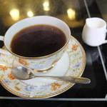 珊瑚 - ホットコーヒー 350円
