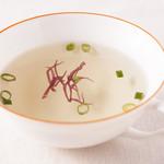 未来食カフェレストラン つぶつぶ - 白たまりスープ