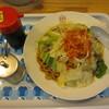 Ramendaigakuinaintaten - 料理写真:ローメン+辛ネギ ¥840