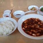 26669739 - 麻婆豆腐(1品)1,000円 + ご飯セット 350円
