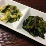 丹波 - 白菜・菜の花