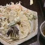 手打そば さか間 - 野菜天 500円