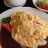 アルカフェ コナミ - 料理写真:オムライス デミグラスソース