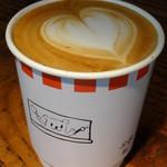 ブルースカイコーヒー - カフェラテ