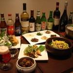 koreAn diNing GOMAmura - コースに+¥1700で2時間の飲み放題が楽しめます。