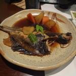 天松 - 真かれいの煮付(780円)