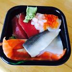 丼の丼丸 - 海鮮丼(500円)