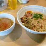 らーめん 孫子 - 濃厚鮭節つけめん(冷もり)2014.4.27