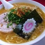 日和田製麺所 - 味噌ラーメン680円(大盛りも同料金)