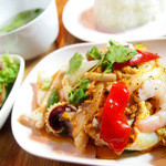 ダオタイ - シーフードの卵カレー