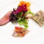 シェ・ソーマ - 1500円ランチの前菜