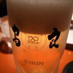 鳥良 - ビール