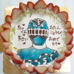 チェリボン洋菓子店 - トッキュウジャーブルー  チェリボン