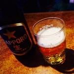 26684289 - サッポロ瓶ビールで乾杯!