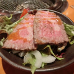 炭火焼肉 あもん - ローストビーフ