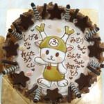 チェリボン洋菓子店 - ゆるキャラ ふっかちゃん  チェリボン